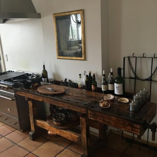 Hobelbank Küche holz und liebe schöner wohnen